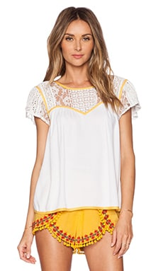 Tularosa Weston Top in White