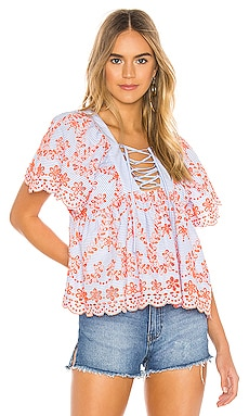 Daisy Embroidered Top Tularosa $87