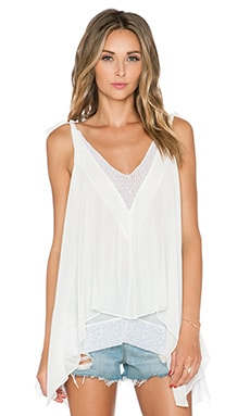 Tularosa Veda Tank in White
