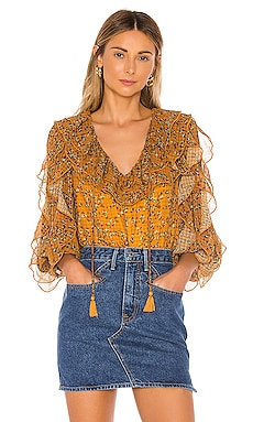 Claire Blouse Tularosa $198 BEST SELLER