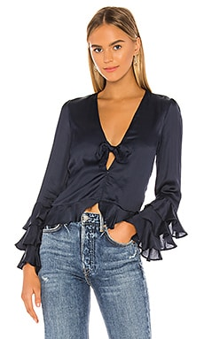 Winnie Long Sleeve Blouse Tularosa $49 (SOLDES ULTIMES)