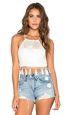 Tularosa Festival Top in White