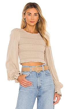 Dianna Smocked Top Tularosa $168