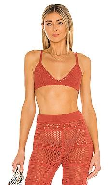Hayden Crochet Bra Tularosa $128 NEW