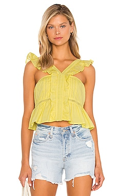 Brit Embroidered Top Tularosa $148