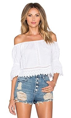 Tularosa x REVOLVE Isabella Top in White