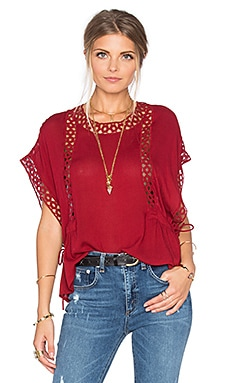 Tularosa Marla Top in Wine