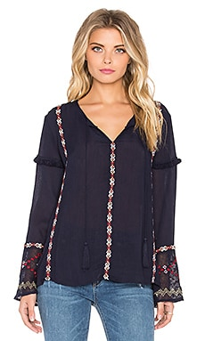 Tularosa Katarina Top in Navy