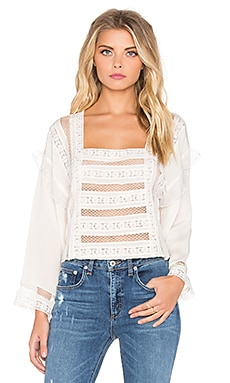 Tularosa Lola Top in Ivory