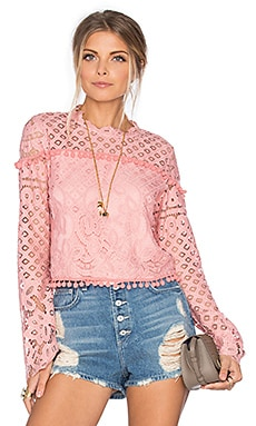 x REVOLVE Holly Top en Blush