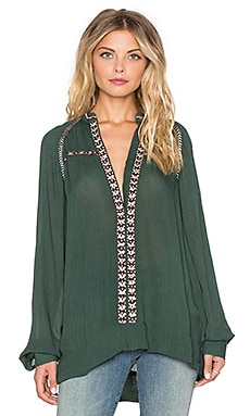 Tularosa Wyatt Tunic in Olive