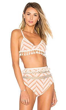 Elias Top en Blush Stripe