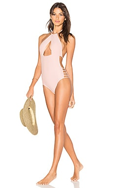 Haven One Piece in Pale Pink