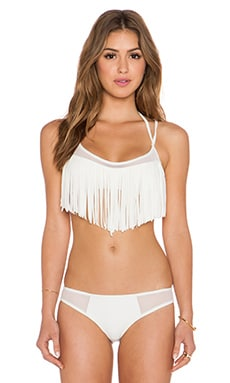 Tularosa On The Fringe Top in Purity