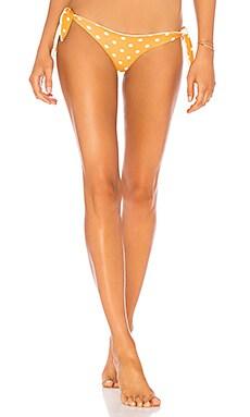 Купить Низ бикини с завязками по бокам nikki - Tularosa, С завязками по бокам, Индонезия, Peach