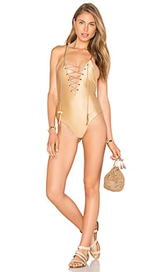 Tularosa Gretta One Piece in Hazelnut