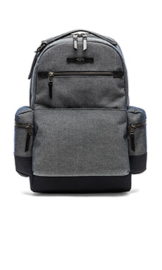 Tumi Dalston Massie Backpack in Masonry Grey