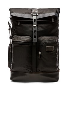Tumi Alpha Bravo Luke Roll-Top Backpack in Hickory