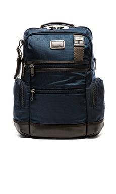 Tumi Alpha Bravo Knox Backpack in Navy