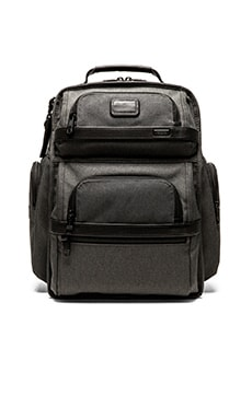 Tumi Alpha 2 T-Pass Business Brief Pack in Anthracite