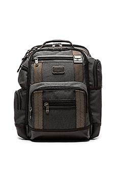 Tumi Alpha Bravo Kingsville Deluxe Brief Pack in Anthracite