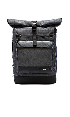 Tumi Dalston Ridley Roll-Top Backpack in Masonry Grey