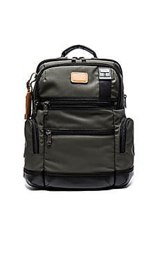 Tumi Alpha Bravo Knox Backpack in Moss