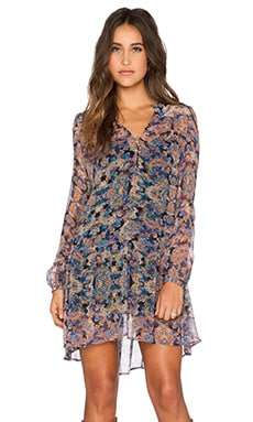 Twelfth Street By Cynthia Vincent Mini Dress in Taj Paisley