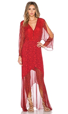 Twelfth Street By Cynthia Vincent Gypset Maxi Dress in Caveman