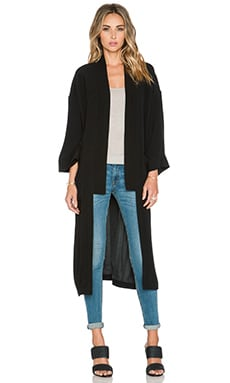 Twelfth Street By Cynthia Vincent New Kimono in Black