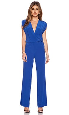 Twelfth Street By Cynthia Vincent Sleeveless Jumpsuit in Blue