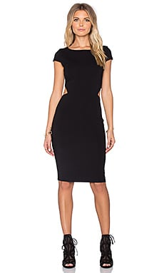 twenty Cutout Bodycon Dress in Black
