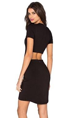 Viscose Stretch Cutout Dress
