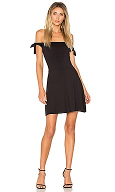 Superior Tied Shoulder Dress