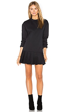 Pride Pleated Sweater Dress