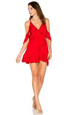 Tai Dress in Red