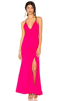 Loren Dress in Fuchsia