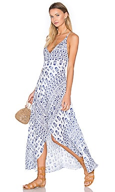 Two Arrows West Dress in Capri Print