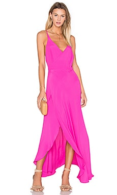 Two Arrows West Dress in Fuchsia