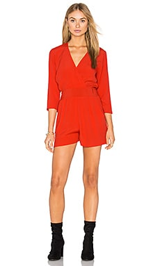 Sloane Romper in Red