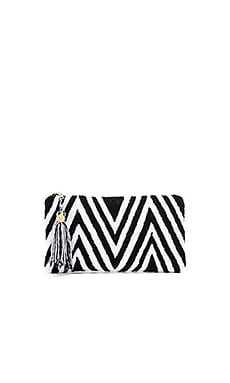 Wynwood Clutch in Black & White