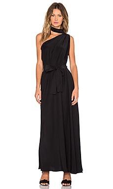 TY-LR The Horizon Dress in Noir