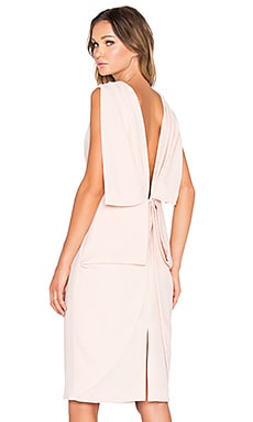 TY-LR The Memoire Dress in Peach