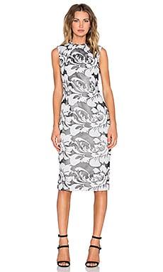 TY-LR The Verdant Dress in Black & White