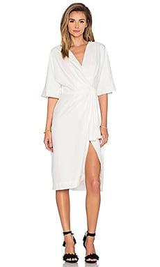 TY-LR Georgia Dress in White
