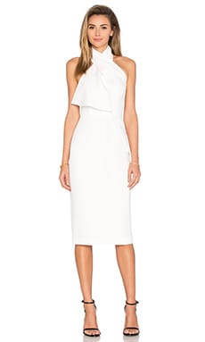 TY-LR The Loren Dress in White