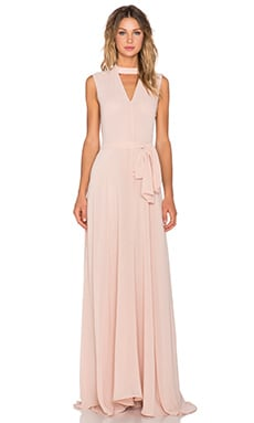 TY-LR The Hall Dress in Blush Pink