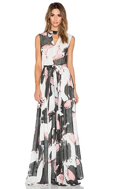 TY-LR The Hall Dress in Brushstroke