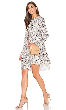 The Sorrento Dress in Marble Print
