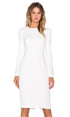 TY-LR The Situation Dress in White